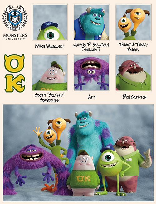 uoc duoc mot lan den... monsters university - 3
