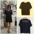 Thời trang - Eva khéo tay: F5 áo phông với cổ áo không cần may vá