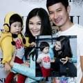 Làng sao - Huy Khánh lần đầu dẫn vợ con đi dự tiệc