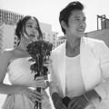 Làng sao - Tài tử Lee Byung Hun khoe ảnh cưới hạnh phúc