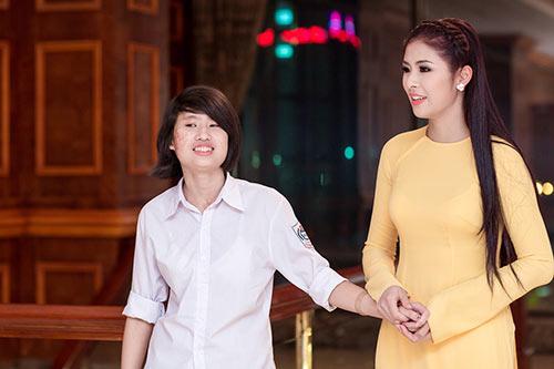 "hh ngoc han lam ""cau noi yeu thuong"" - 7"