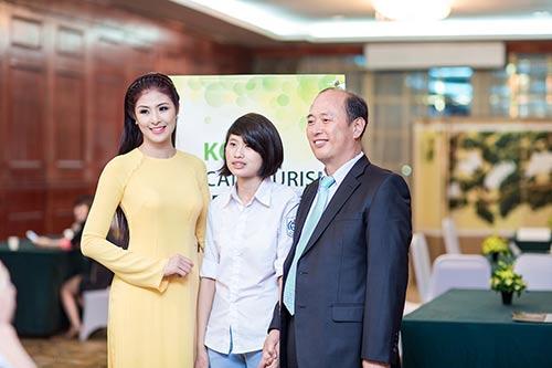 "hh ngoc han lam ""cau noi yeu thuong"" - 10"