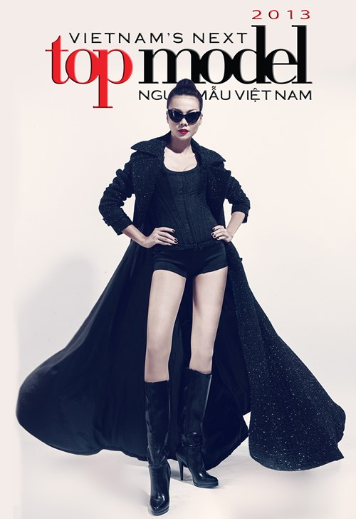 thanh hang chinh thuc lam host cua vnntm 2013 - 2