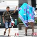 Tin tức - Ảnh: Người dân Trung Quốc 'phát sốt' với nắng nóng