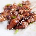 Bếp Eva - Thịt gà tẩm mật ong nướng xiên