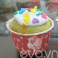 Bếp Eva - Cupcake bơ trà xanh đón tuần mới