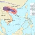 Tin tức - Bão số 5 cách bờ biển Quảng Ninh-Nam Định 410 km