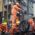 Tin tức - EVN khắc phục 3 đường dây bị sự cố do bão