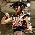 """Thời trang - Trà My thành """"chiến binh Samurai """""""