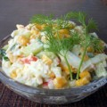 Bếp Eva - Salad giả cua thanh mát