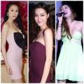 Thời trang - Thấp thỏm nhìn sao Việt diện váy quây