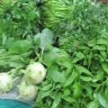 Mua sắm - Giá cả - Sau bão, rau xanh tăng 40% - 70%