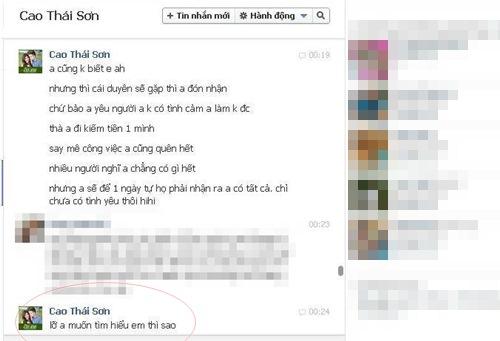 tuan qua: cao thai son co bi gia mao facebook? - 1