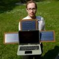 Eva Sành điệu - Laptop dùng năng lượng mặt trời siêu độc đáo