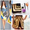 Thời trang - Eva khéo tay: Tự làm chân váy quấn sành điệu