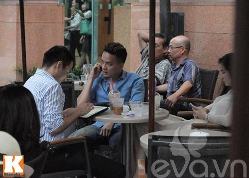 cao thai son cang thang uong cafe sau scandal - 1