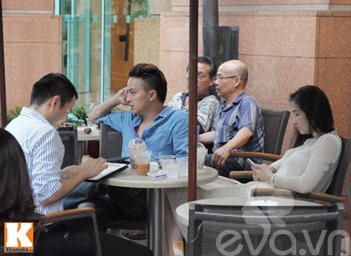 cao thai son cang thang uong cafe sau scandal - 2