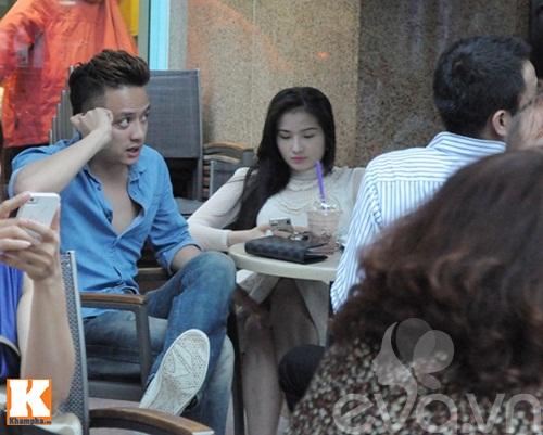 cao thai son cang thang uong cafe sau scandal - 4