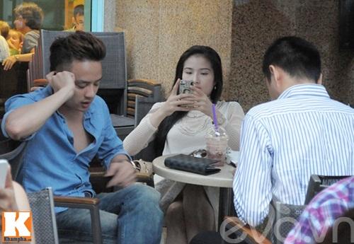 cao thai son cang thang uong cafe sau scandal - 5