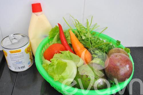 Lạ miệng với salad chanh dây thập cẩm - 1