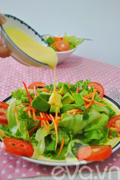 Lạ miệng với salad chanh dây thập cẩm - 9