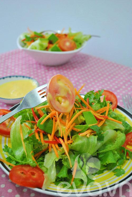 Lạ miệng với salad chanh dây thập cẩm - 10