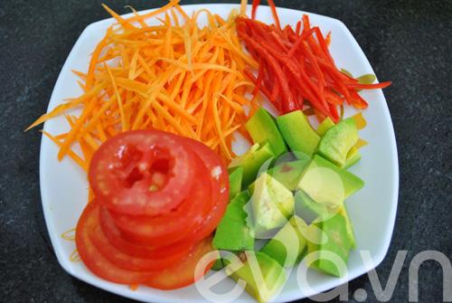 Lạ miệng với salad chanh dây thập cẩm - 3