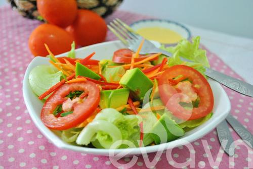 Lạ miệng với salad chanh dây thập cẩm - 8