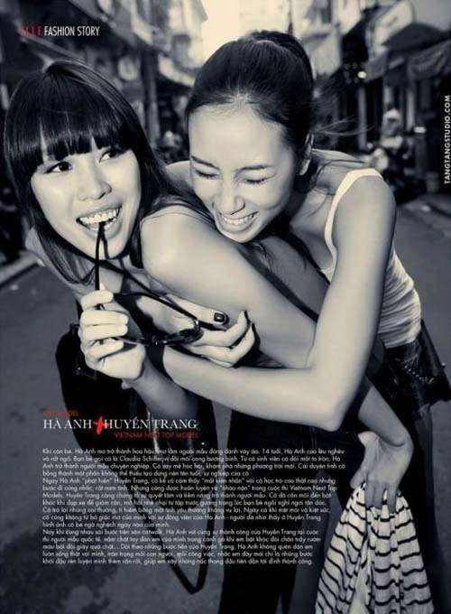 vn next top model: sau thanh hang se la...? - 4