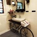 Nhà đẹp - Xe đạp tồi tàn mà bừng sáng cả không gian