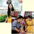 """Làng sao - HH Hương Giang """"hành hạ"""" MC Nguyên Khang"""