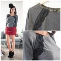 Thời trang - Eva khéo tay : Làm mới áo len mỏng đón thu