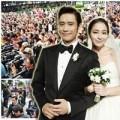 """Làng sao - """"Đám cưới thế kỷ"""" Lee Byung Hun gây ách tắc"""
