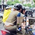 Làng sao - Mỹ Tâm và Lâm Vĩnh Hải ''cưỡi'' mô tô cực ngầu