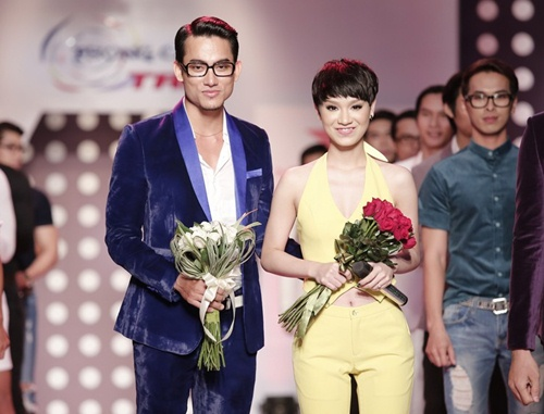tra my idol khoe dang chuan ben dan mau nam - 14