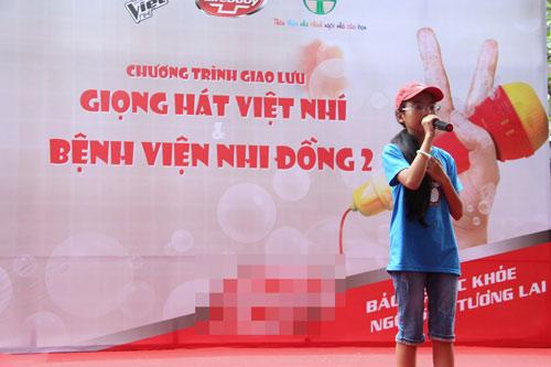my chi, chi long hat tai bv nhi dong - 7