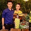 Làng sao - Linh Nga rạng ngời cạnh em trai hot boy