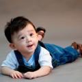 Ngắm ảnh bé - Siêu mẫu nhí: Hoàng tử Tít cười 'mê hồn'