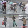 Cận cảnh siêu bão Utor càn quét Trung Quốc
