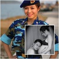 MC Chúng tôi là chiến sĩ mang bầu 6 tháng