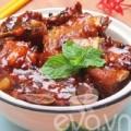 Bếp Eva - Sườn lợn kho tiêu đầy hấp dẫn