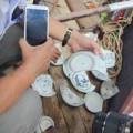Tin tức - Mẻ cổ vật đầu tiên từ tàu cổ vừa phát hiện ở Quảng Ngãi