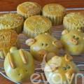 Bếp Eva - Tự làm bánh trung thu thập cẩm