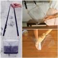 Thời trang - Eva khéo tay: Túi nhựa trong độc đáo