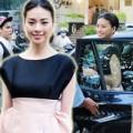 Làng sao - Ngô Thanh Vân dự tiệc bằng xế tiền tỷ mới tậu
