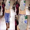"""Thời trang - """"Sốc"""": Người mẫu trùm đầu che mặt như... Ninja"""