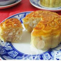 Bánh Trung thu nướng nhân dừa