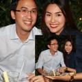 Làng sao - Vợ chồng Hà Tăng hạnh phúc ăn tối cùng nhau