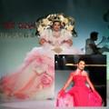 Thời trang - Ngô Mỹ Uyên diện váy 80kg  tái xuất sàn diễn