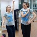 Làng sao - Mỹ Tâm ''xì tin'' trên sàn tập vũ đạo